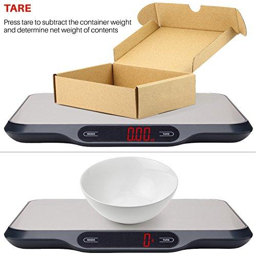 Smart Weigh digitale Küchenwaage – perfekt für den Thermokocher - 5