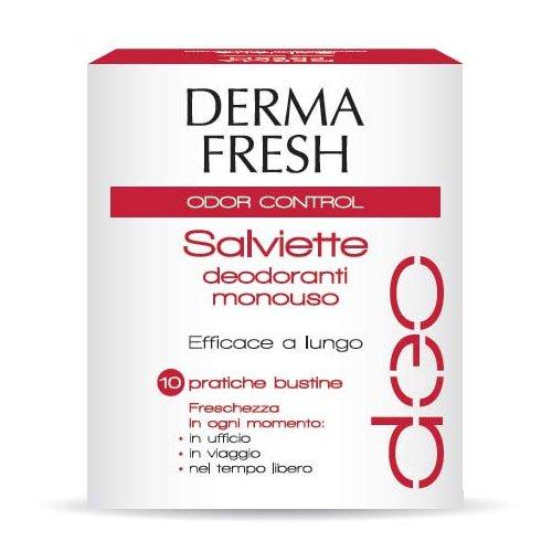 Dermafresh odor-control 10 salviettine deodoranti