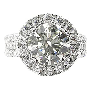 Women Rings Sale, Luxurious And Elegant Diamond Zircon White Openwork Ring Ladies JewelryWedding Engagement Jewelry Gift Various Sizes G,H,I,J,K,L,M,N,O,P,Q,R,S,T