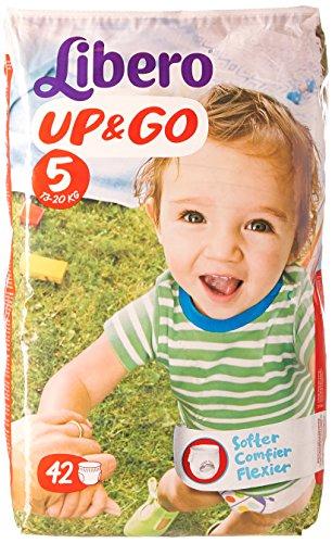 Up & Go 42 Culottes Taille 5 - 13-20 kg - Lot de 2 (84 couches)
