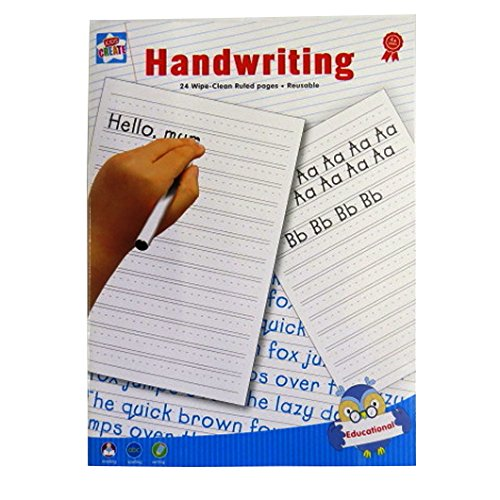 Price comparison product image Handwriting Practice A4 Wipe Clean Book