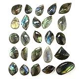 Labradorite pietra levigata, Freeform labradorite Rocks, lastre di labradorite, mix all' ingrosso 5PCS