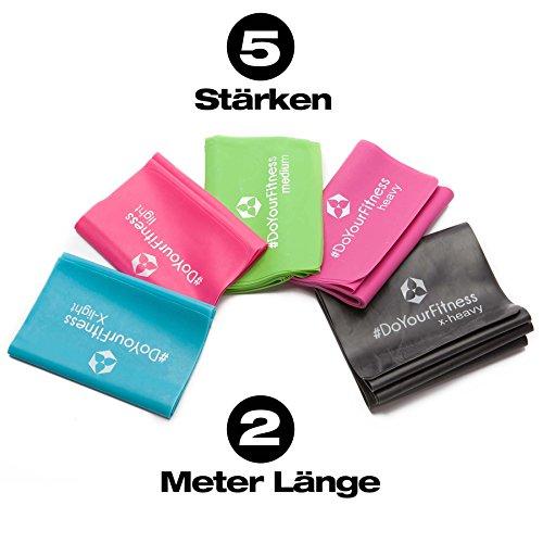 5stck-2m-fitnessband-aus-100-latex-in-5-unterschiedlichen-zugstrken-lavitra-strke-200cmx15cm-trainin