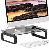 Nero del Monitor del Computer Supporto per TV Schermo Riser HD02B-001P