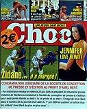 CHOC [No 55] - ZIDANE - IL A MARQUE - JENNIFER LOVE HEWITT - RACHEL HUNTER - GEORGE BUSH - PAMELA ANDERSON