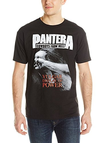 Pantera - Vulgar Display Of Power Uomo S/S T-Shirt In Nero, Medium, Nero