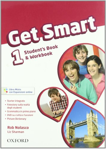 Get smart. Student's book-Workbook. Per la Scuola media. Con CD Audio. Con espansione online: 1