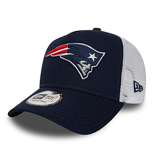 New Era Kappe Team Essential TRUCKER New England Patriots One size