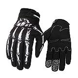 Serired Winddicht wasserdicht Touch Bildschirm Sport Handschuh Winter & Herbst Skelett Knochen Handschuhe Fahrrad Motorrad