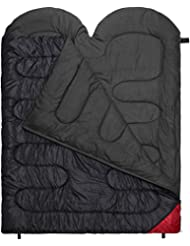 2 Personen Doppelschlafsack Companion in Komfortgröße 220 x 160 cm