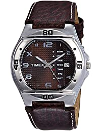 Timex Fashion Analog Brown Dial Men's Watch-EL04