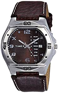 Timex Fashion Analog Brown Dial Men's Watch-EL04