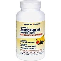 Chewable Acidophilus with Bifidus, Banana Flavor 100 Wafers by American Health preisvergleich bei billige-tabletten.eu