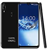 "(2019) 4G cellulari offerte,OUKITEL C16 Pro Android 9.0 Smartphone DUAL SIM - MT6761 Quad-core 2.0GHz 3GB RAM +32GB ROM 5.71"" HD+ Schermo Sgrondo Sblocco Facciale & Impronta digitale GPS, Nero"