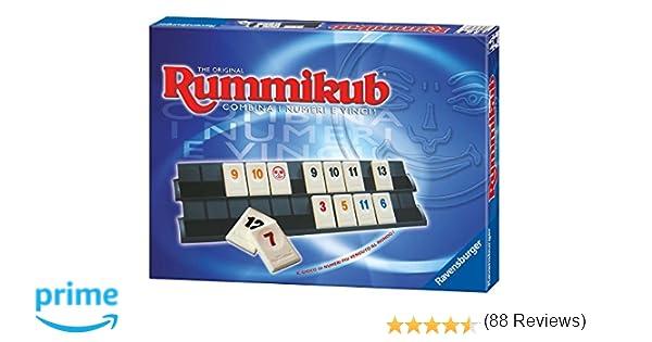 bf3bda9a9a33 Ravensburger Italy- Rummikub Classic Gioco, 26208: Amazon.it: Giochi e  giocattoli