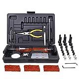 Visseuse à Chocs Sans fil, TECCPO Professional 180Nm Boulonneuse sans-fil 18V, 2 Batteries 2.0Ah, 30min Charge Rapide, 6.35mm Mandrin - TDID01P