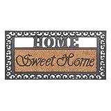 Kokosfußmatte Fußabstreifer Sweet Home 45x75cm