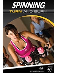 Spinning® Fitness DVD Turn And Burn - Bicicletas estáticas y de spinning para fitness ( interior ), color n/a, talla NA