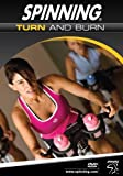 Spinning Fitness DVD Turn And Burn, Full Color, 7195