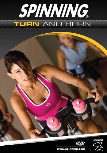 Cd / Dvd-spinner (Spinning® Fitness DVD Turn And Burn, Full Color, 7195)