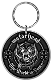 Motorhead Standard Keychain: the World Is Yours
