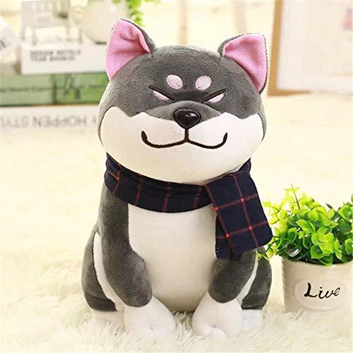 YRBB Plüschtier 25 cm Tragen Schal Shiba Inu Hund Japanische Puppe Spielzeug Doge Hund Gefüllte Weiche Tier Spielzeug Plüsch Nette Cosplay Geschenk @ 2 -