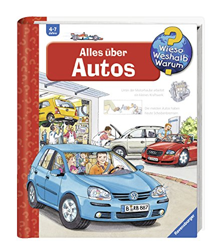 Alles über Autos (Wieso? Weshalb? Warum?, Band 28) (Buch über Autos Für Kinder)