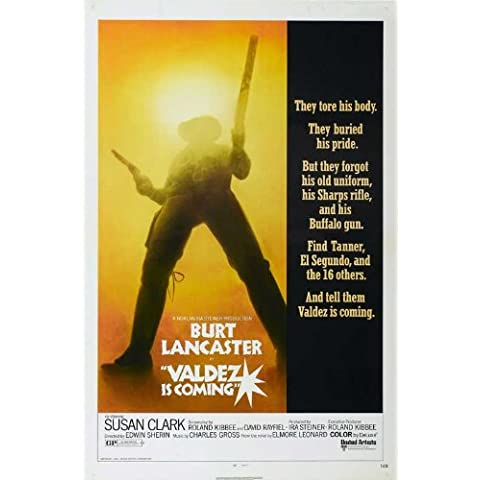 Valdez Is Coming Poster (11 x 17 Inches - 28cm x 44cm) (1971) Style A