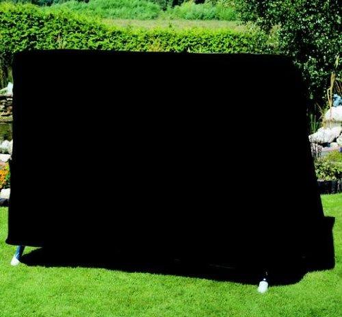 Fachhandel Plus Schutzhülle für 2-Sitzer-Hollywoodschaukel 155x155x145cm anthrazit