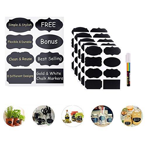 lavagna-etichette-kit-slate-labels-40pcs-sticker-fai-da-te-lables-premium-adesivi-rimovibile-riutili