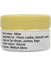 SeeandWear Medium Shine Leather Neutral Shoe Polish Cream