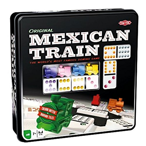 Preisvergleich Produktbild Tactic 54005 Spiel Mexican Train (evtl. nicht in deutscher Sprache)