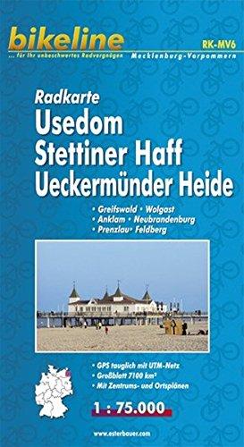 Usedom/Stettiner Haff/Ueckermunder Heide Cycle Map 2010 por Esterbauer
