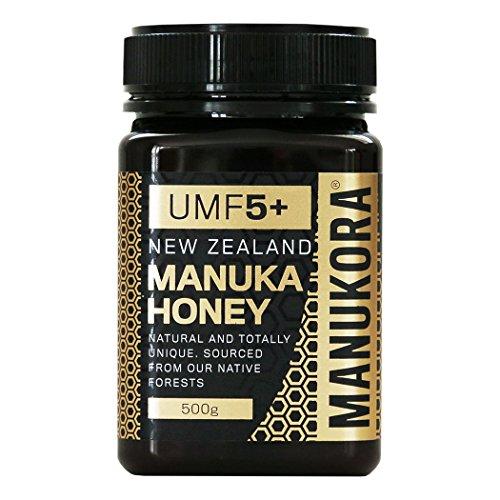 Manukora UMF 5+ (MGO 83+) Manuka Honig, 500g