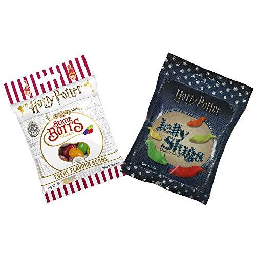 Jelly Belly Bertie Botts Bohnen (54 g) und Jelly Slugs (59 g)