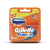 Gillette Fusion Manual Shaving Razor Blades  4s Pack Cartridge