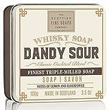 SCOTTISH FINE SOAPS Dandy Ácido jabón en lata 100g