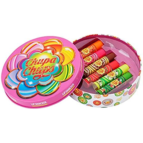 Lip Smacker estaño Chupa Chups, 1er Pack (1 x 6 piezas)