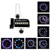 BestFire Bright Bike Wheel Lights Wasserdicht 14LED (Double Sides) Speichen Licht für Nacht Reiten 30 verschiedene Muster ändern