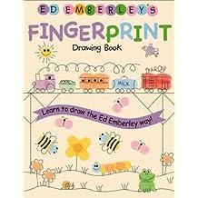 [(Ed Emberley Fingerprint Drawing Book )] [Author: E. Emberley] [Aug-2005]