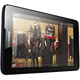 Lenovo A8-50 8-inch Tablet (Quad Core 1.3GHZ, 1GB, 16GB EMMC, Wi-Fi, Bluetooth, GPS, x2 Cameras, Android 4.4) - Midnight Blue