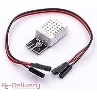 AZDelivery ⭐⭐⭐⭐⭐ DHT22 AM2302 Sensor de temperatura y de humedad para Arduino y Raspberry Pi