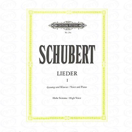 LIEDER 1 - arrangiert für Gesang - Hohe Stimme (High Voice) - Klavier [Noten/Sheetmusic] Komponist : SCHUBERT FRANZ