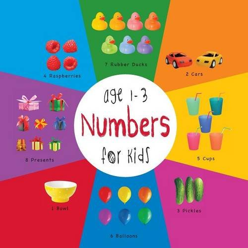 Numbers for Kids age 1-3 (Engage Early Readers: Children's Learning Books) with FREE EBOOK