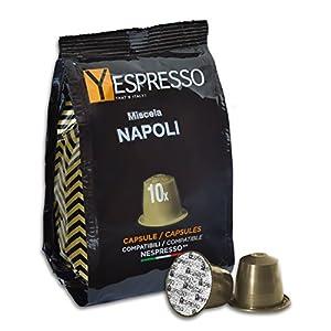 Yespresso NESPRESSO compatibili, Cremoso Napoli - 200 Capsule 6 spesavip