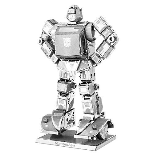 Fascinations Metal Earth MMS301 - 502682, Transformers Bumblebee, Konstruktionsspielzeug, 2 Metallplatinen, ab 14 Jahren (Optimus Prime Spielzeug Metall)