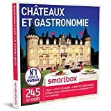 SMARTBOX - Châteaux et gastronomie - Coffret cadeau gourmand - À choisir parmi 245 séjours : châteaux, manoirs, domaines et demeures prestigieuses 3* et 4*. Offrez une nuit avec petit-déjeuner et un dîner gastronomique pour 2 personnes, dans un cadre d'exception