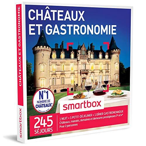 SMARTBOX - Coffret Cadeau homme femme couple - Châteaux et gastronomie - idée...