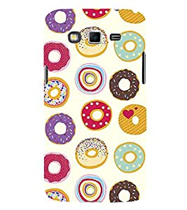Colourful doughnuts Wallpaper 3D Hard Polycarbonate Designer Back Case Cover for Samsung Galaxy Grand 2 :: Samsung Galaxy Grand 2 G7105 :: Samsung Galaxy Grand 2 G7102
