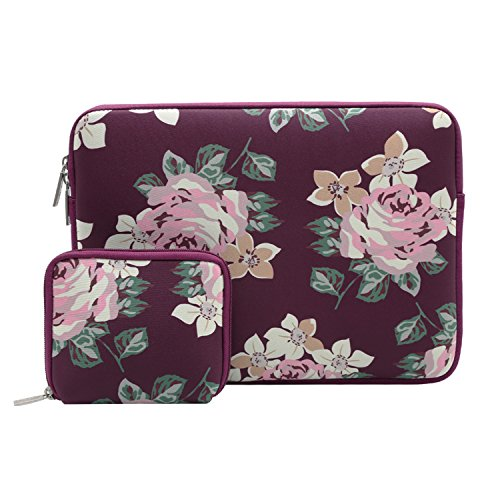 MOSISO Housse pour Ordinateur Portable, Water Repellent Lycra Cover Housse Sac pour 13-13.3 Pouces Ultrabook, MacBook Pro, MacBook Air, Notebook avec ...